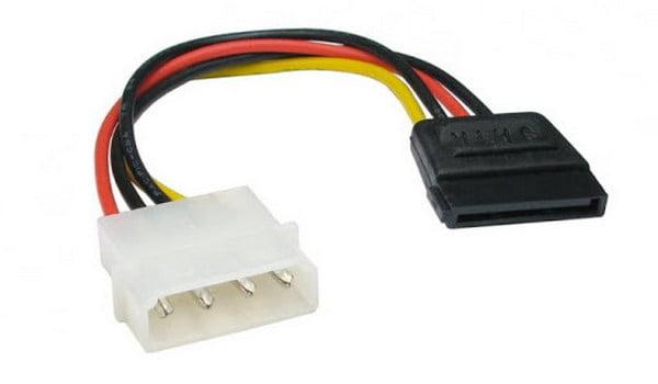 Кабель для SATA-дисков и DVD-приводов