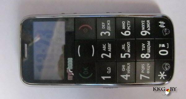 Так выглядит бабушкофон MyPhone 1030 Grander