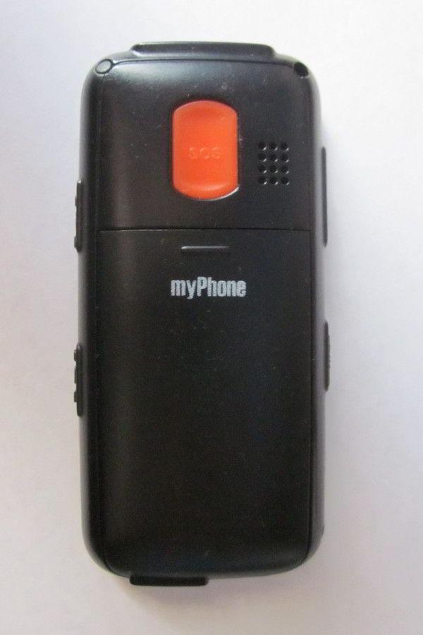 Телефон - вид сзади. Кнопка экстренного вызова