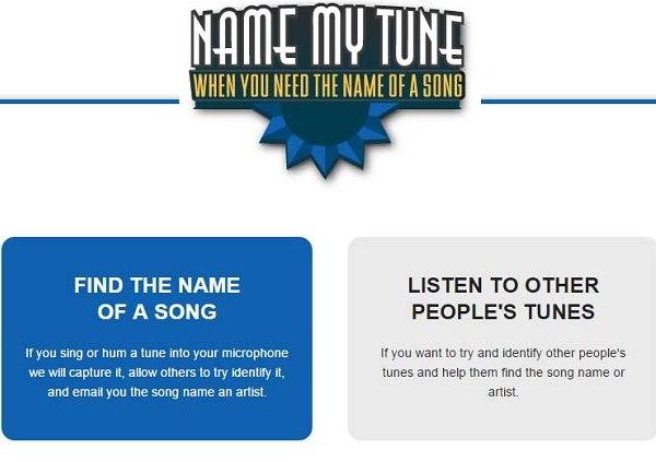 сервис Name my tune