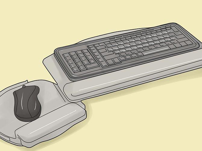 Удобные клавиатура и мышь